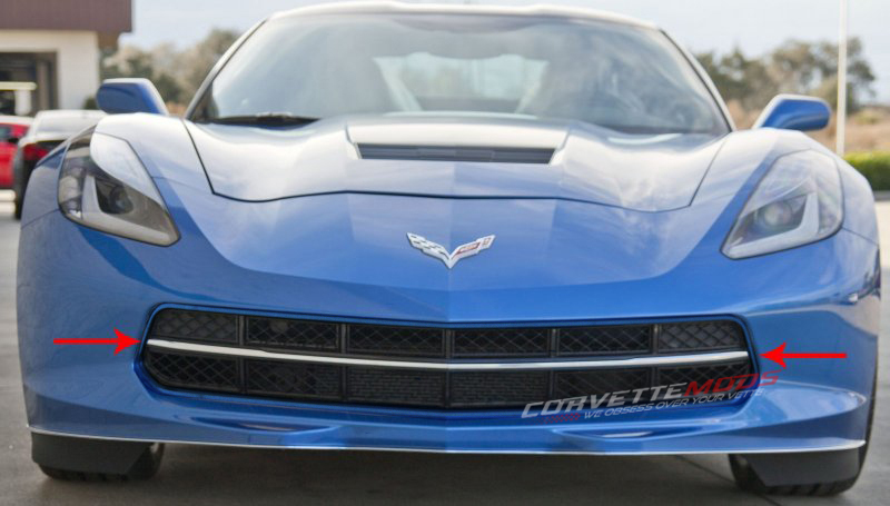 C7 Corvette Stingray 2014 Custom Painted Front Grille