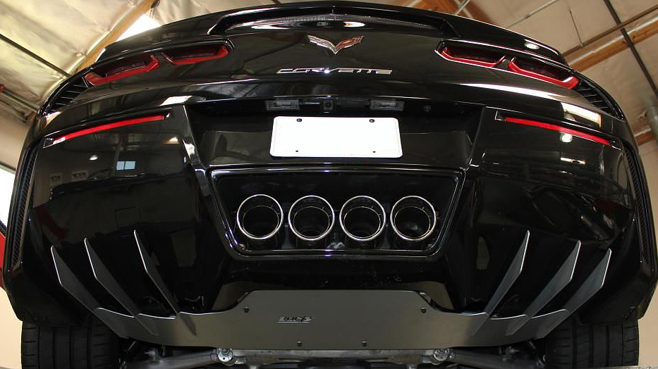 C7 Corvette Stingray Z06 2014 Borla Rear Exhaust