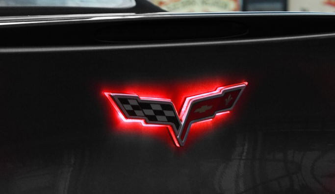 C6 Corvette 2005 2013 Led Front Rear Emblem Lighting
