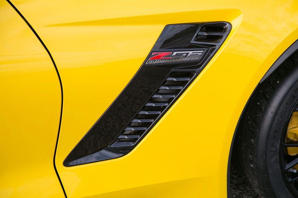 C7 Corvette 2015+ Z06 Side Fender Duct Vents - Pair ...