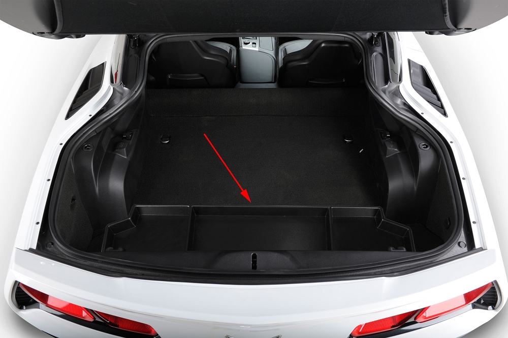 C7 Corvette Stingray Z06 Grand Sport 2014 Rear Organizer Tray Corvette Mods