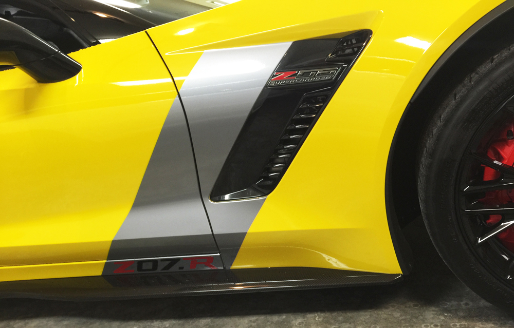 C7 Corvette Z06 Grand Sport 2015 C7r Corvette Racing Side