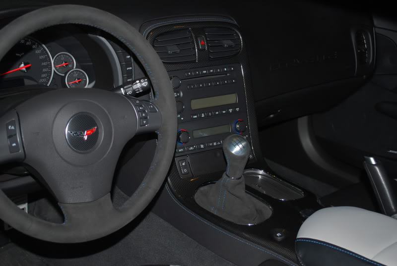 Black Car Paint >> C6 Corvette 2005-2013 Suede/Leather Steering Wheels - Stitching Color Options - With or Without ...