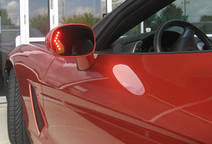 C6 Corvette 2005 2013 Heated Side View Mirrors With Led