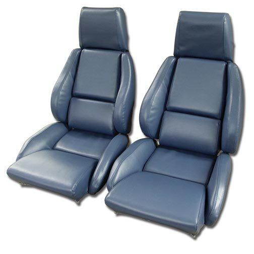C4 Corvette 1984 1996 Leather Like Seat Covers Pair