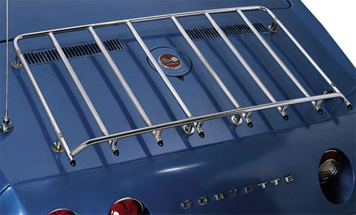 C3 Corvette 1968 1977 Stainless Steel Or Chrome Luggage