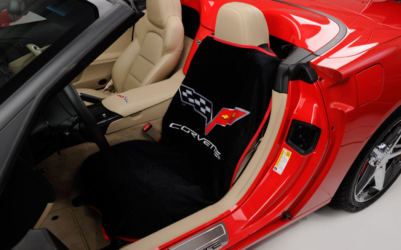 C6 Corvette 2005 2013 Seat Armour Seat Cover Towels