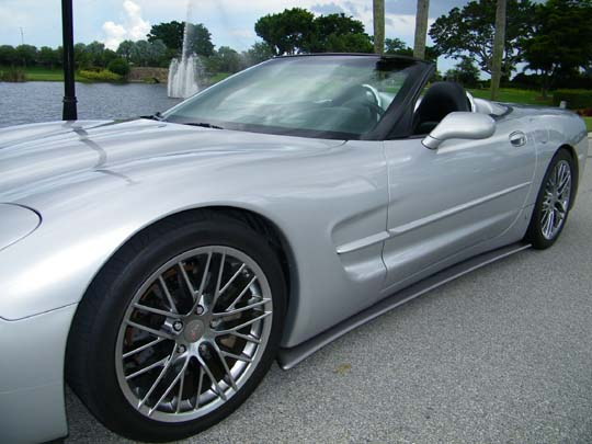 How To Look Up License Plate Number >> C5 Corvette 1997-2004 GT2 Side Skirts | Corvette Mods