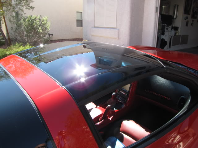 C6 Corvette 2005 2013 Transparent Roof Panel Corvette Mods