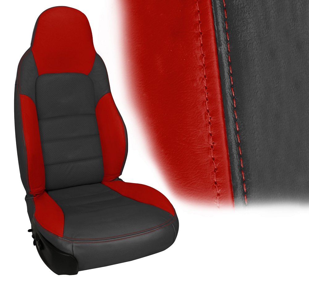 C6 Corvette 2005 2011 Z06 Inspired Leather Seat Covers