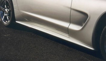 Corvette 97-04 C5 Side Skirts