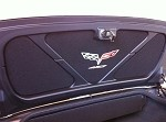 C5 C6 Corvette 1997-2013 Trunk/Deck Lid Liner Insert Embroidered - Logo Options