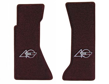 C4 1991-1994 Corvette 40th Anniversary Logo Ultimat Floor Mats