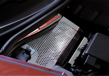 Corvette C6 Battery Cover Perforated