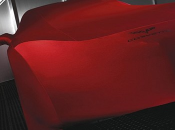 Corvette C6 05-13 GM Car Covers w/ Logo - Indoor Use