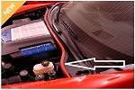 Corvette C6 05-13 Colored Underhood Weatherstripping Kit