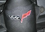 Corvette C6 Air Bridge Logo Decals
