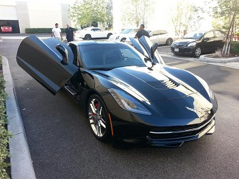 Corvette C7 Stingray 2014+ Vertical Doors ZLR Style Kit