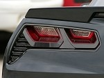 C7 Corvette Stingray 2014+ Taillight Trim Kit - Custom Painted