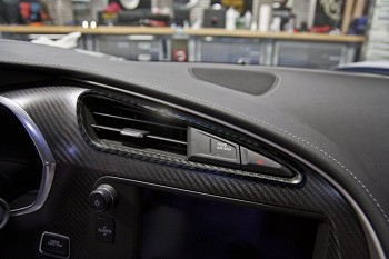 C7 Corvette Stingray 2014+ Hydrocarbon A/C Vent Trim 2 Pc
