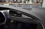 C7 Corvette Stingray 2014+ Hydrocarbon Carbon Fiber A/C Vent Trim 2 Pc