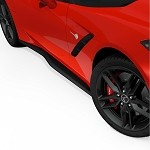 C7 Corvette Stingray 2014+ ACS Zero7 Side Rockers - Fiberglass