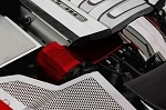 C7 Corvette Stingray 2014+ Custom Painted Alternator Cover - Perforated