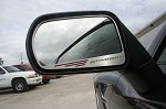 C7 Corvette Stingray 2014+ Side View Mirror Trim - Brushed