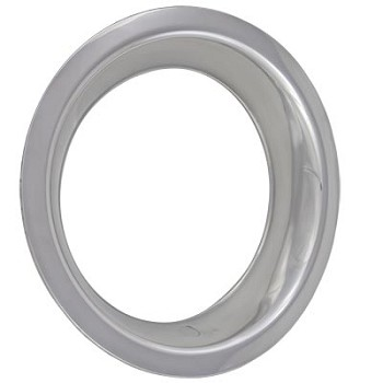 "C3 1968 - 1982 Corvette 15""x 8"" Stainless Steel Deep Dish Wheel Trim Rings"