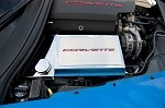 "C7 Corvette Stingray 2014+ Fuse Box Cover ""Corvette"" Carbon Fiber Lettering"