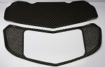 C7 Corvette Stingray 2014+ Hydrocarbon Carbon Fiber Perforated Hood Panel Kit - 2 Pieces