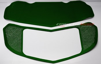C7 Corvette Stingray/Z51/Z06 2014+ Custom Painted Perforated Hood Panel Kit - 2 Pieces