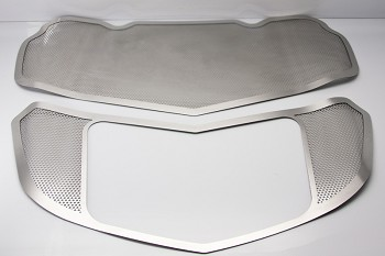C7 Corvette Stingray 2014+ Perforated Hood Panel Kit - 2 Pieces