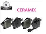 C7 Corvette Stingray 2014+ Ceramix Brake Pads - Front