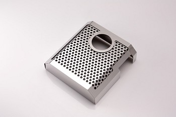 C7 Corvette Stingray/Z51/Z06 2014+ Perforated Polished / Brushed Brake Master Cylinder Cover