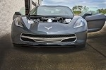 C7 Corvette Stingray 2014+ Retro Matrix Style Front Grille Blackout- 3 Piece