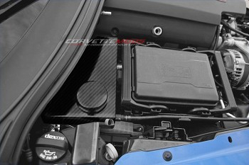 C7 Corvette Stingray/Z51/Z06 2014+ Hydro Carbon Fiber Water Tank Cover