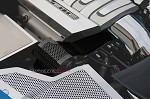 C7 Corvette Stingray 2014+ Hydro Carbon Fiber Alternator Cover - Perforated