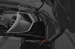 C7 Corvette Stingray/Z51/Z06 2014+ Hydro Carbon Fiber Vent Tube Cover - Perforated