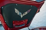 C7 Corvette Stingray 2014+ Hood Badge Emblem For Factory Pad