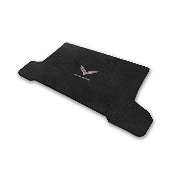 C7 Corvette Stingray 2014+ Lloyd Ultimat Crossed Flags / Corvette Script Cargo Mats