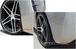 C6 Corvette 2005-2013 Hydro Carbon Fiber GM Splash Guard Set Non-ZO6, GS, ZR1