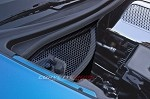 C6 Corvette 2005-2013 Z06 / Grand Sport Hydro Carbon Fiber Dry Sump Oil Tank Cover - Perforated