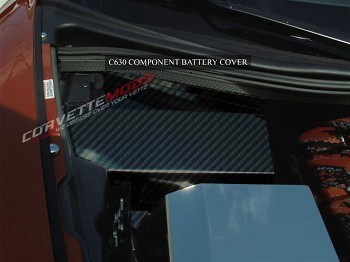 C6 Corvette 2005-2013 Hydro Carbon Fiber Battery Cover
