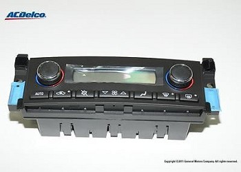 C6 Corvette 2005-2012 Heater / Air Conditioning Dash Control