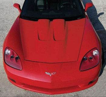 C6 Corvette 2005-2013 Cold Air Hood
