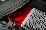 C7 Corvette Stingray/Z51/Z06 2014+ Custom Painted Stainless Steel Water Tank Cover - Perforated
