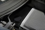 C7 Corvette Stingray 2014+ Hydrocarbon Carbon Fiber Water Tank Cover - Perforated