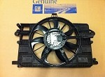 C7 Corvette Stingray 2014 + Radiator Cooling Fan W / Motor And Shroud