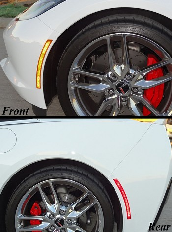 C7 Corvette Stingray 2014+ LED Side Markers - 4Pc